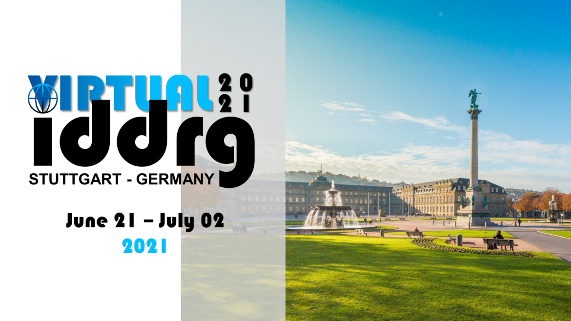 conference announcement iddrg 2021